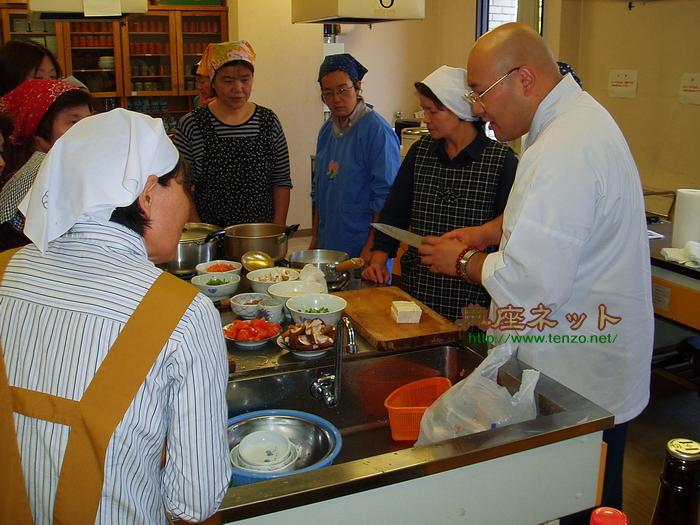 片品村精進料理講習会1