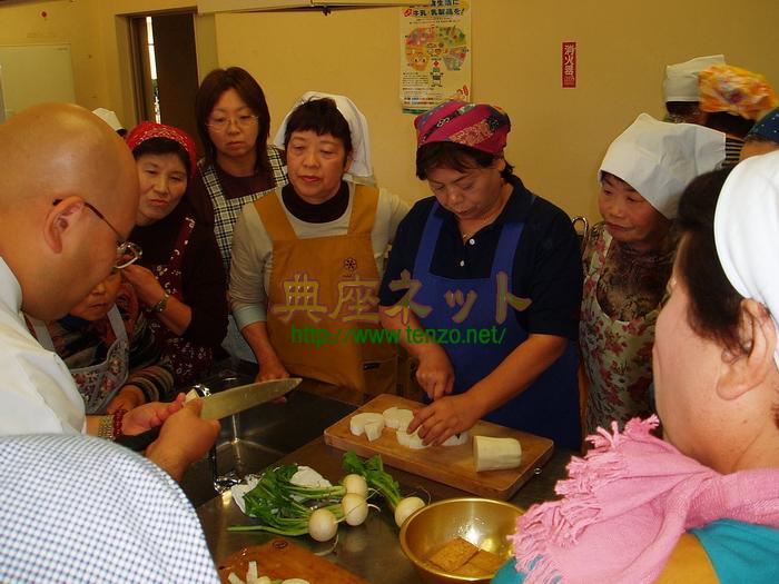 片品村精進料理講習会3