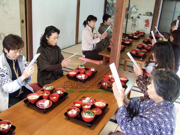 精進料理教室2